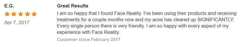 Acne clinic review