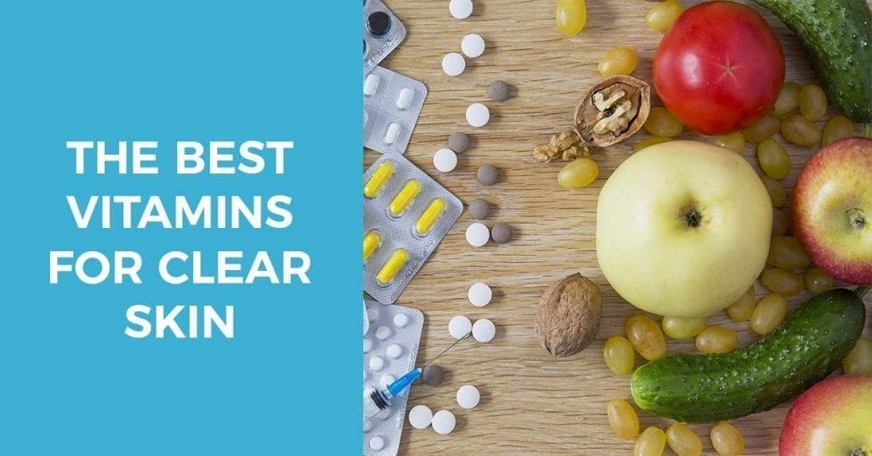 the best vitamins and substances for clear skin