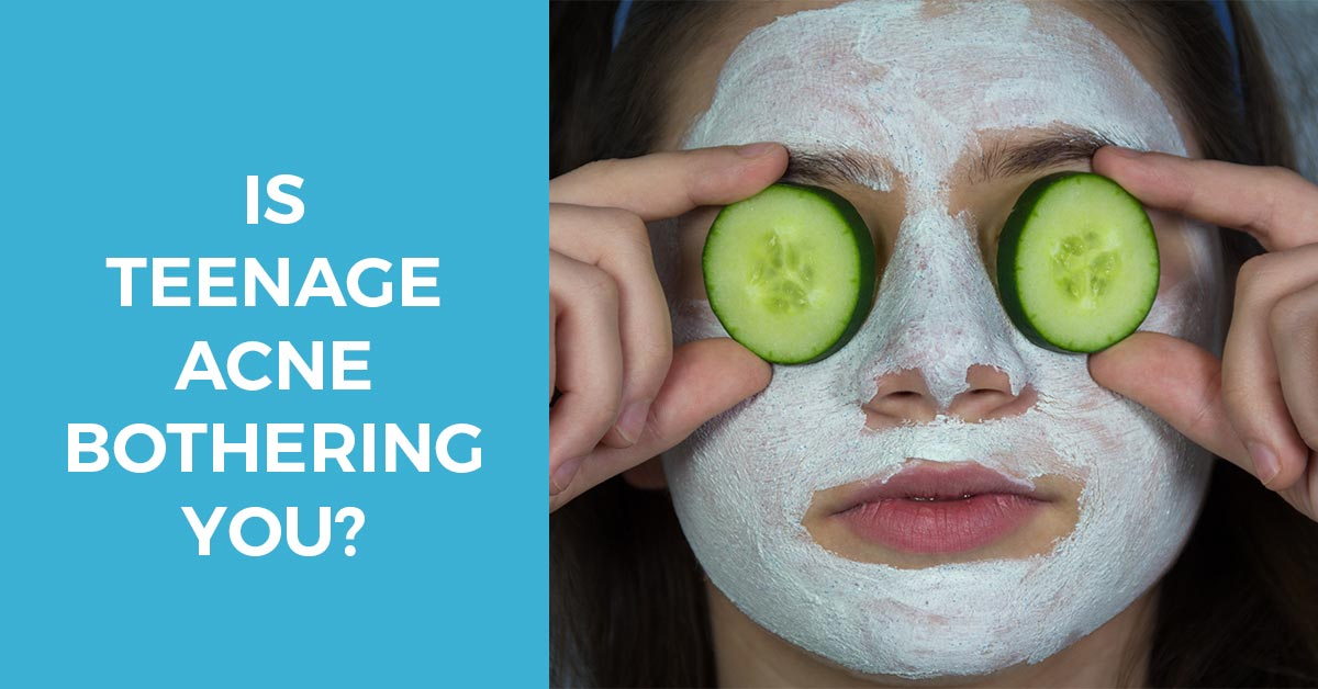 Is Teenage Acne Bothering You? Here's What You Can Do