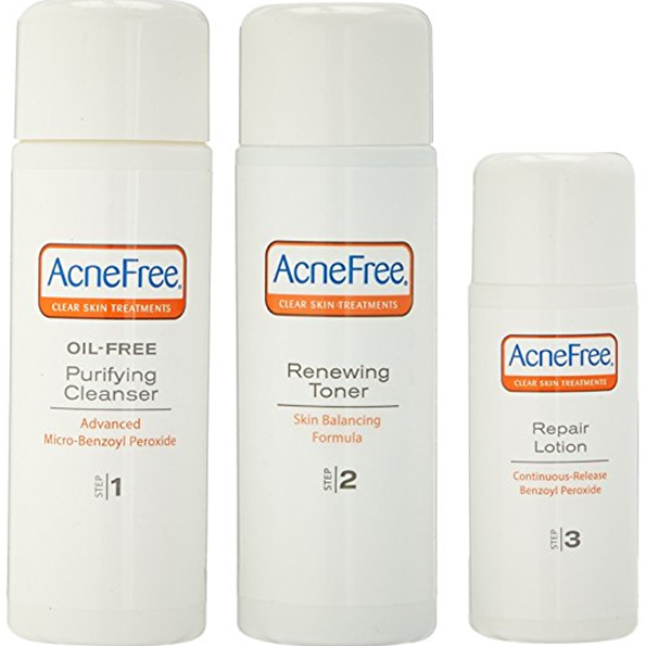 Acnefree packaging