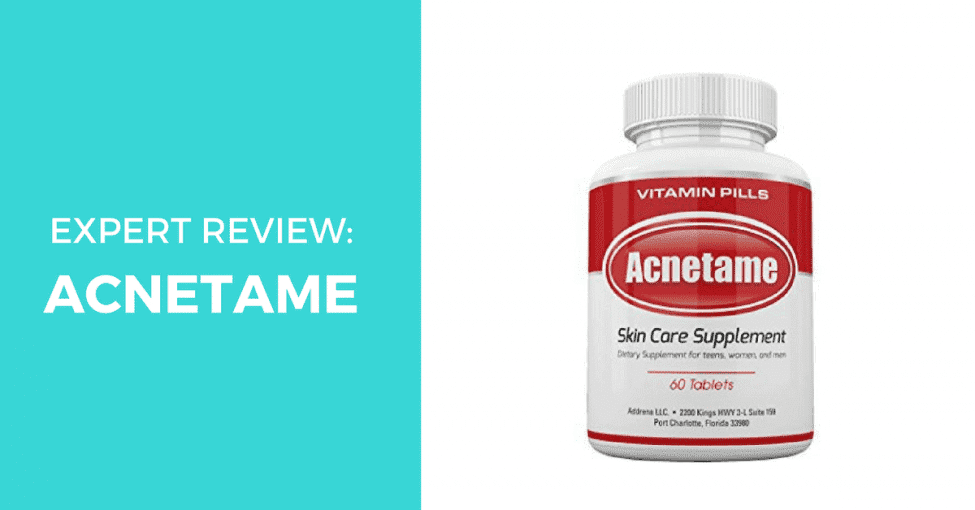 Acnetame skincare supplement expert review