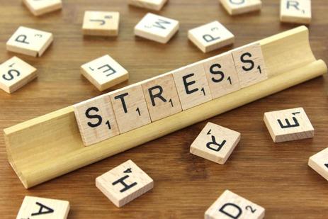 Stress causes acne.