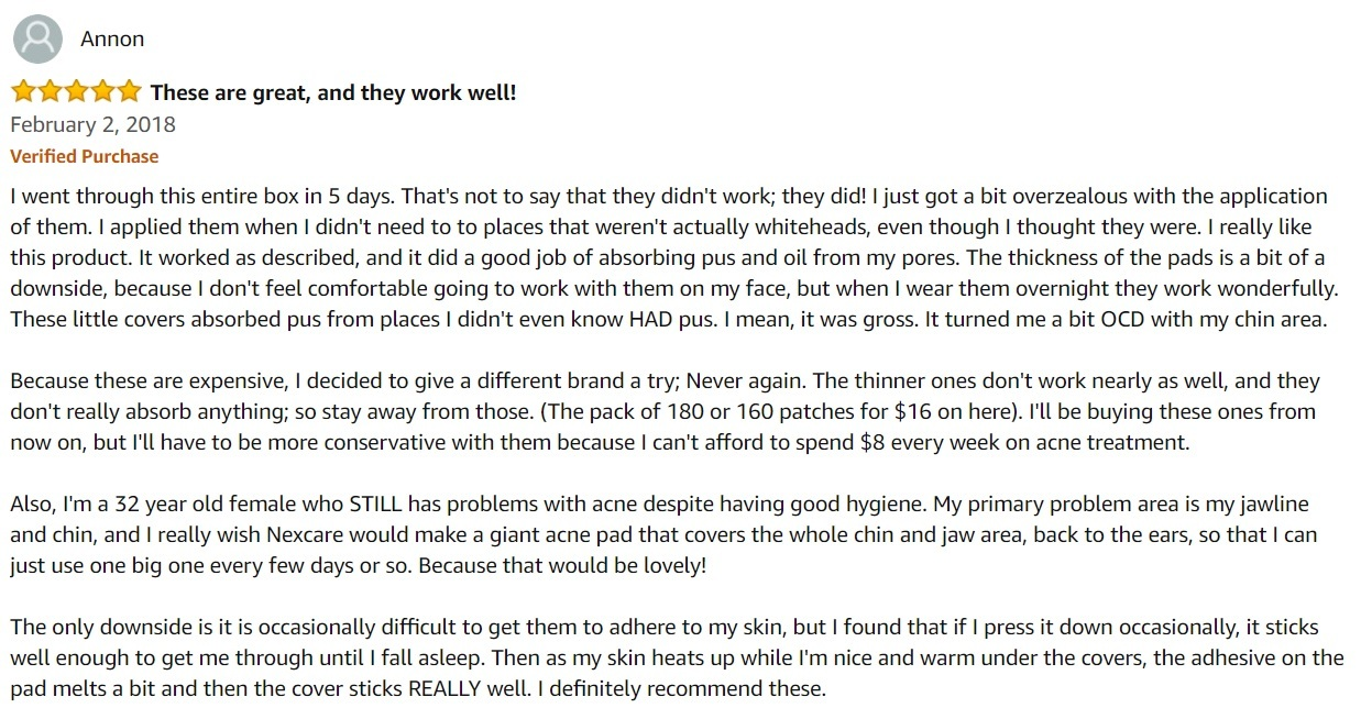 nexcare_acne_patch_customer_review_1