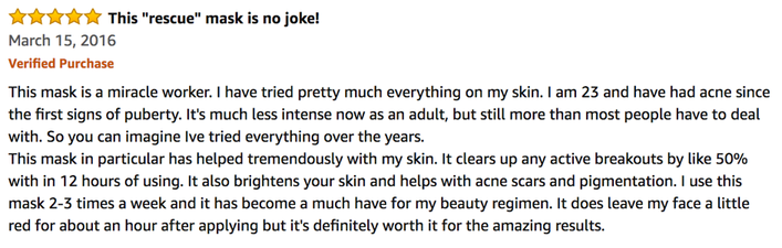 A positive Review about the Dermatologica Charcoal Rescue Mask