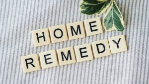Home remedies sign